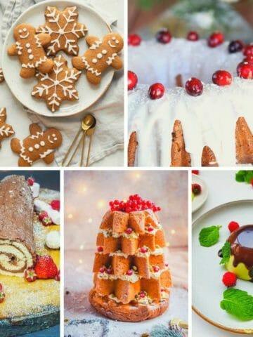 creative Christmas desserts recipes